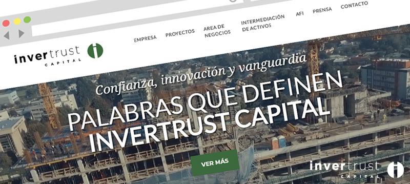 Nuevo Sitio web Invertrust